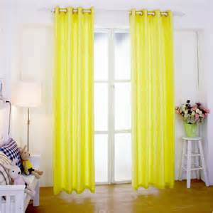 Yellow Linen Curtains Bright Yellow Linen Curtain Ready Made Customized Incurtains From Home Garden On Aliexpress