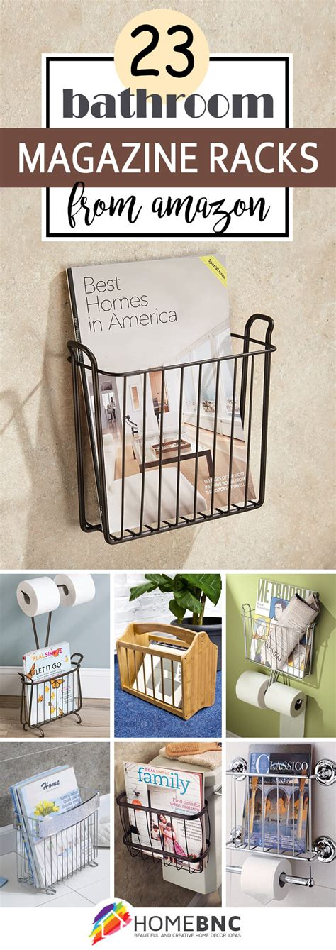 Bathroom Magazine Storage 23 Best Bathroom Magazine Rack Ideas To Save Space In 2017