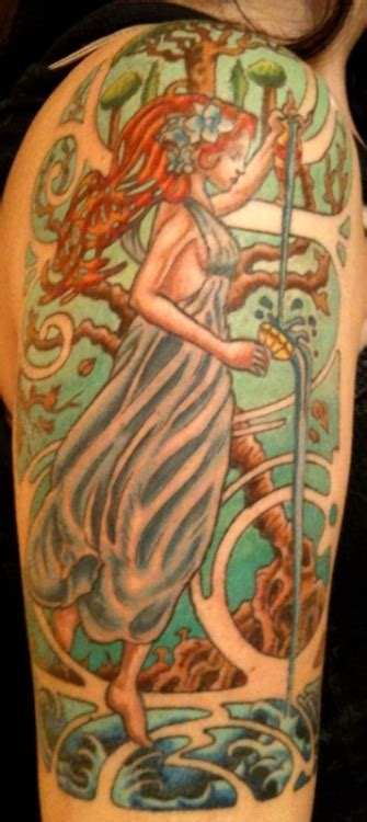 altered state tattoo nouveau on