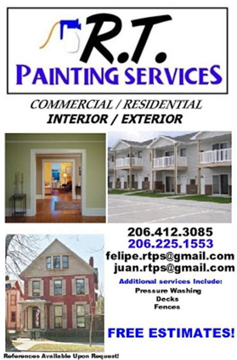 House Exterior Painting - rt painting services