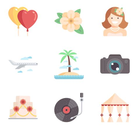Wedding Icons by Wedding Icons 1 199 Free Vector Icons