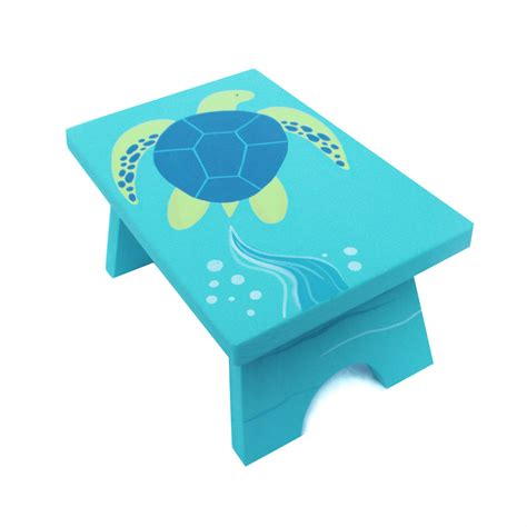 childrens painted step stools small step stool custom painted children s bench