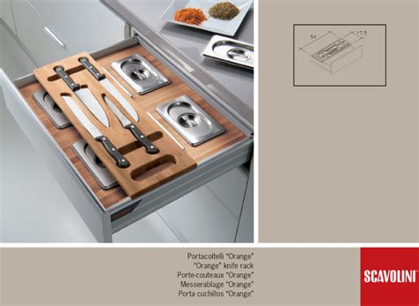 Kitchen Cabinet Drawer Accessories Accessories Scavolini Modern Cabinet Drawer Organisers Melbourne By Scavolini
