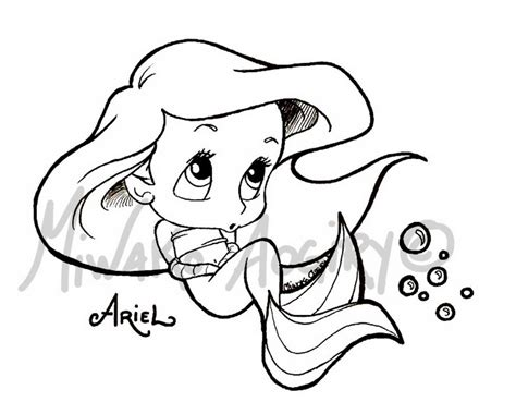 Cute Ariel Coloring Pages | ariel printables colouring pages disney princess