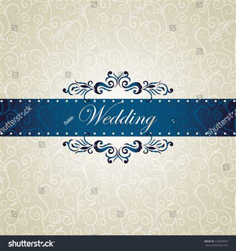 Wedding Card Texture by Wedding Invitation Swirls Floral Card Silk