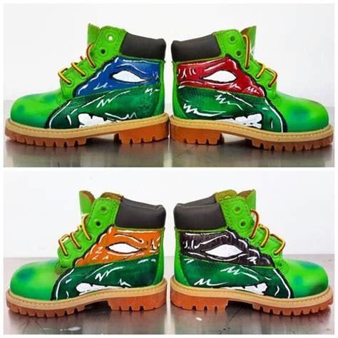 turtles shoes shoes turtles custom timberlands custiom boots custom