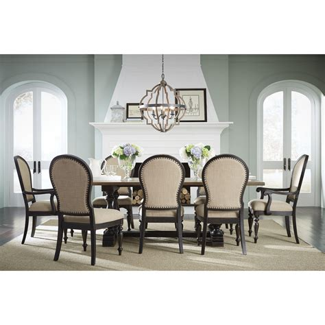 two tone dining chairs standard furniture cambria two tone upholstered side chair