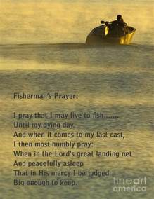 fisherman s prayer photograph by robert frederick