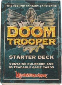 doomtrooper starter deck unlimited edition 8 potomac