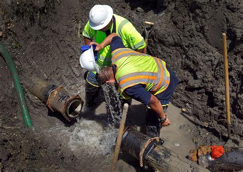 Water Repair Water Utility Water Pipeline Repairs Collective
