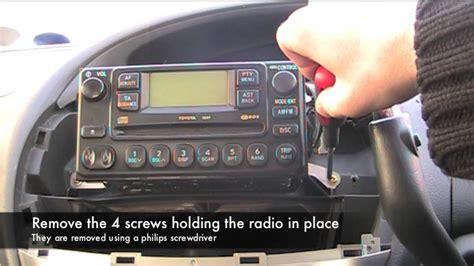 toyota previaestima radio blown fuse youtube