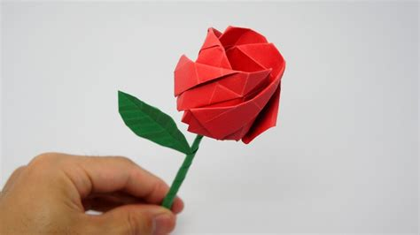 How To Make Origami Roses - origami jo nakashima