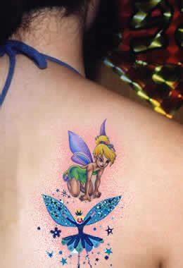 100 s of tinkerbell tattoo design ideas pictures gallery