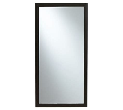 eliza floor mirror black pottery barn