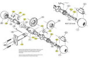 door lockset parts images