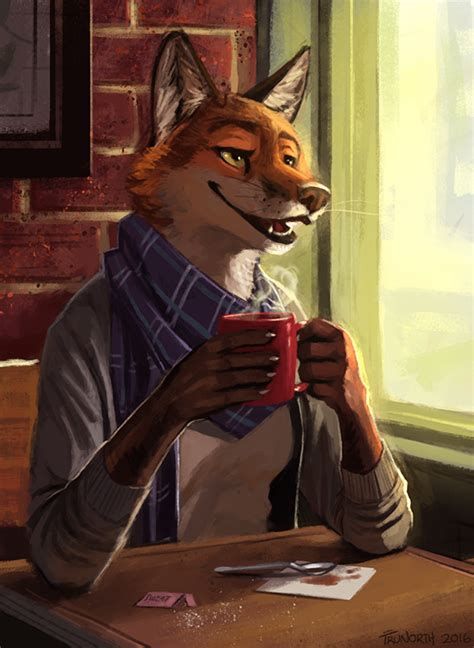 Females Wolf Boy 1 17t quot coffee shop quot by trunorth