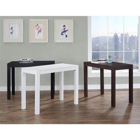 parsons desk with drawer mainstays furniture parsons desk with drawer white ebay