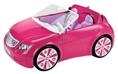 barbie toy cars mattel barbie dreamhouse rc remote control convertible car