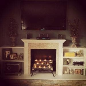 fireplace ideas no fire light your fire 7 faux fireplace ideas for a hearthless home