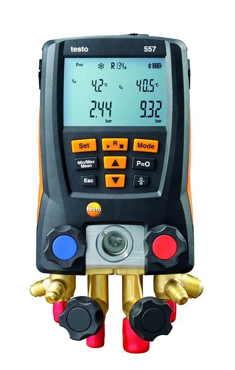 Digital Manifold Testo 557 Digital Refrigeration Gauges With Vacuum Bluetooth