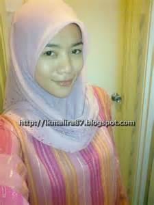 Pashmina Jilbab Monochrome Ceruti 1 Zaman Muda Remaja Shawl Tak Glemer Lagi Time Nie Heheh