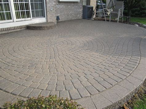 How To Install A Brick Patio by Brick Pavers Canton Plymouth Northville Novi Michigan