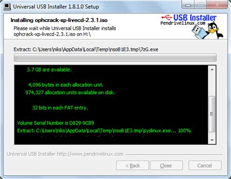 fat32format yahoo how to boot linux distros using your pendrive hacking