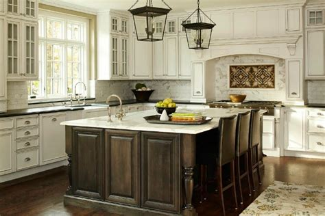 white kitchen dark island kitchen designs white cabinets dark island attractive