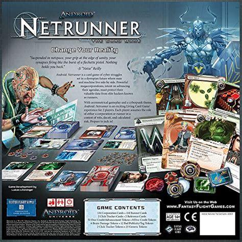 netrunner set decks android netrunner the card import it all