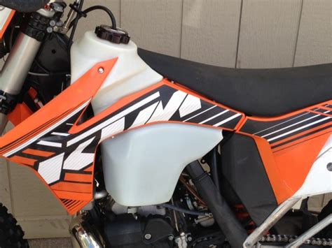 Ktm 450 Exc Fuel Tank Large Capacity Fuel Tanks For Ktm By Ims Slavens Racing
