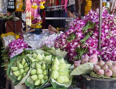 mercato dei fiori bangkok bangkok il caos calmo