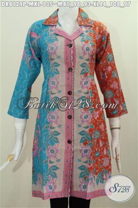 Baju Kerja Xl baju kerja batik printing model paling trendy dengan motif kombinasi berpadu warna modern nan