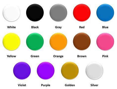 imagenes colores ingles image gallery los colores