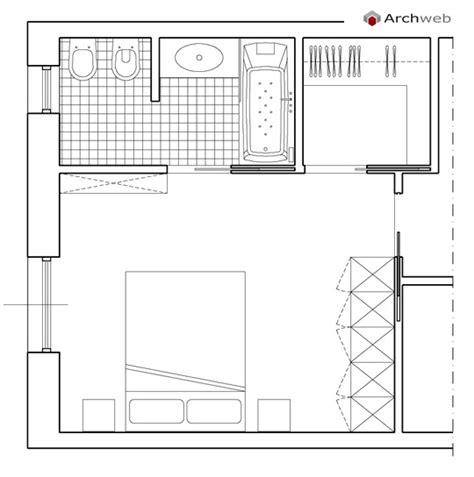 cabina armadio con bagno da letto con cabina armadio e bagno