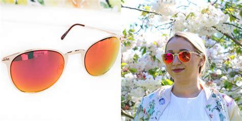 Quay Australia Gold Blue Sunglass quay australia sunglasses collection your