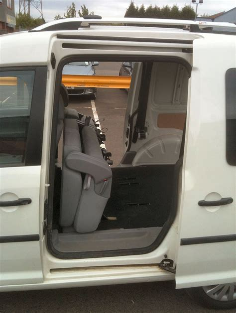 vw caddy back seats vw caddy conversion vw caddy rear seat conversion