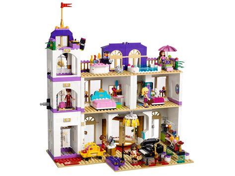 lego hotel tutorial lego friends 41101 il grand hotel di heartlake