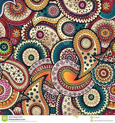 simple batik design flower seamless floral background pattern in vector stock vector
