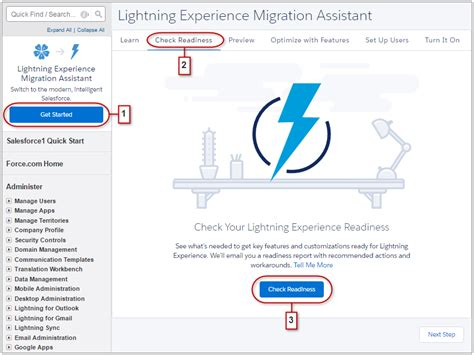 Decide When Lightning Experience Is Right For Your Company Unit Heads Up Email Template