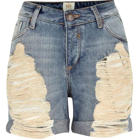 light wash ripped boyfriend light wash ripped denim boyfriend shorts shorts sale