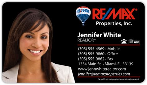 remax business card remax business card templates remax real estate pro