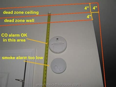 Where To Place A Smoke Detector In A Bedroom by Carbon Monoxide Detector Alarm Locations Where To