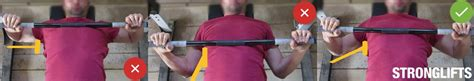 bench press elbows how to bench press with proper form the definitive guide stronglifts