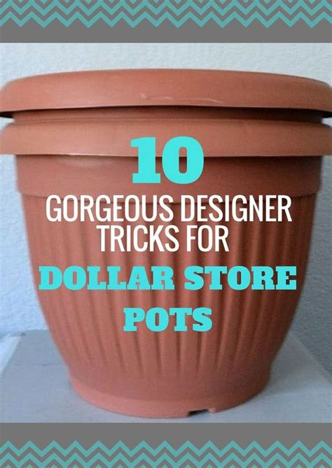 Black Garden Pots Sale How To Upcycle Cheap Flower Pots Gardens