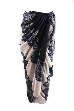 Sarimbit Rok Blouse Lilit Batik D1840 baju kurung moden lace minimalis baju raya 2016 fesyen trend terkini fesyen trend terkini