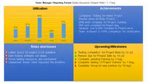 team progress report template project status report template free downloads 13 sles