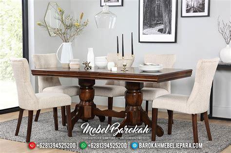 Meja Makan Jati Mewah set meja makan jati minimalis mebel jepara murah