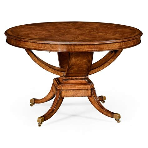 6 Seater Round Dining Table Walnut Swanky Interiors Dining Table Seats 6