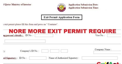 do you need a permit to finish a basement no more exit permit required to leave qatar onward moral