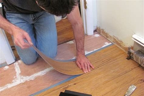 easy to install bathroom flooring how to install vinyl plank flooring bob vila